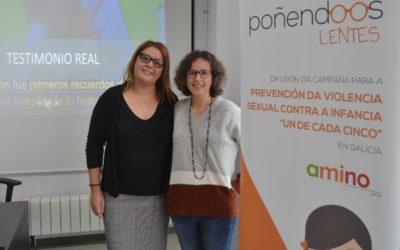 Difusión del Programa Poñendo os Lentes en Pontevedra